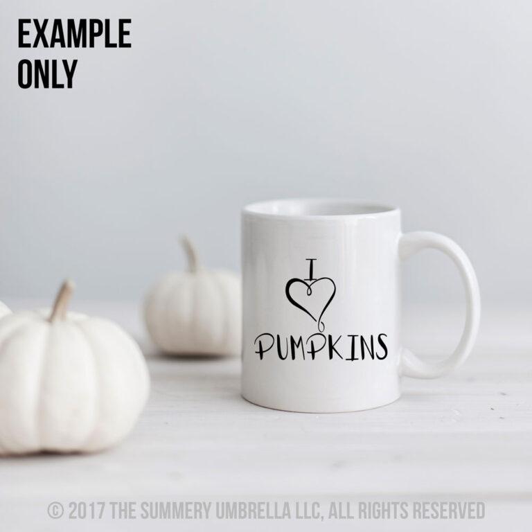 i heart pumpkins quote