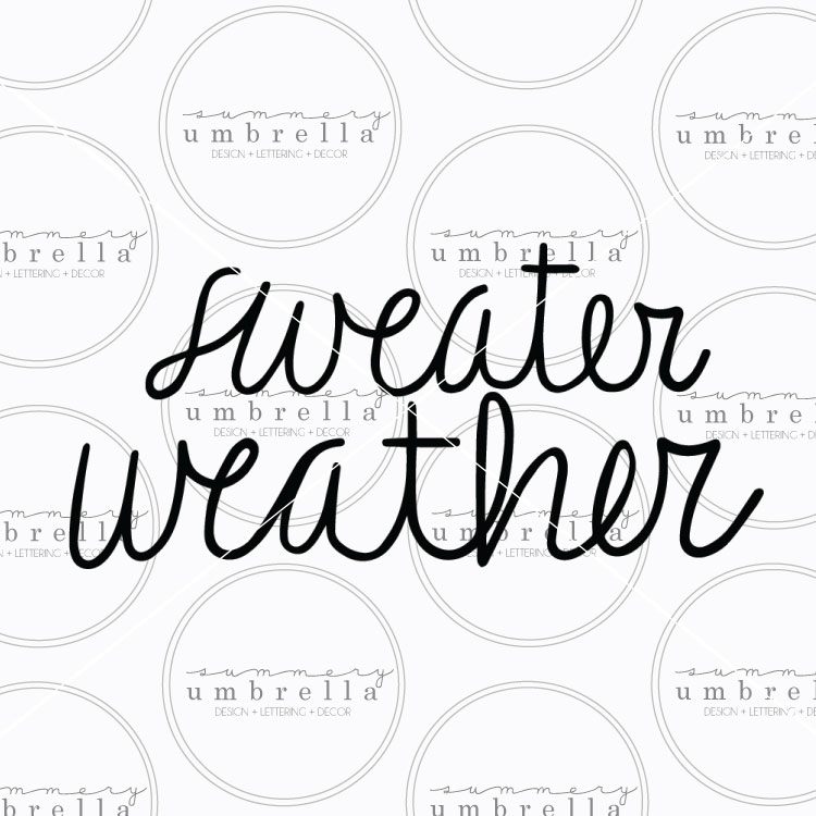 sweater weather clipart