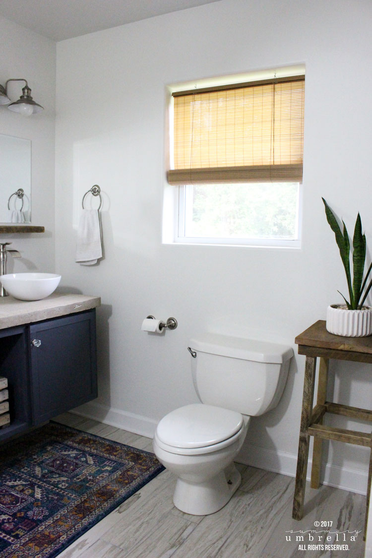 My Industrial Master Bathroom Remodel Before And After