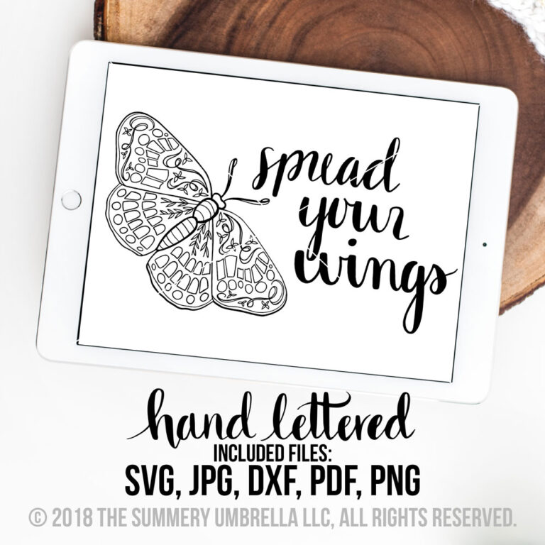 spready your wings svg