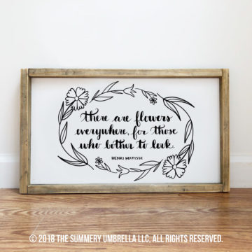 there are flowers everywhere printable