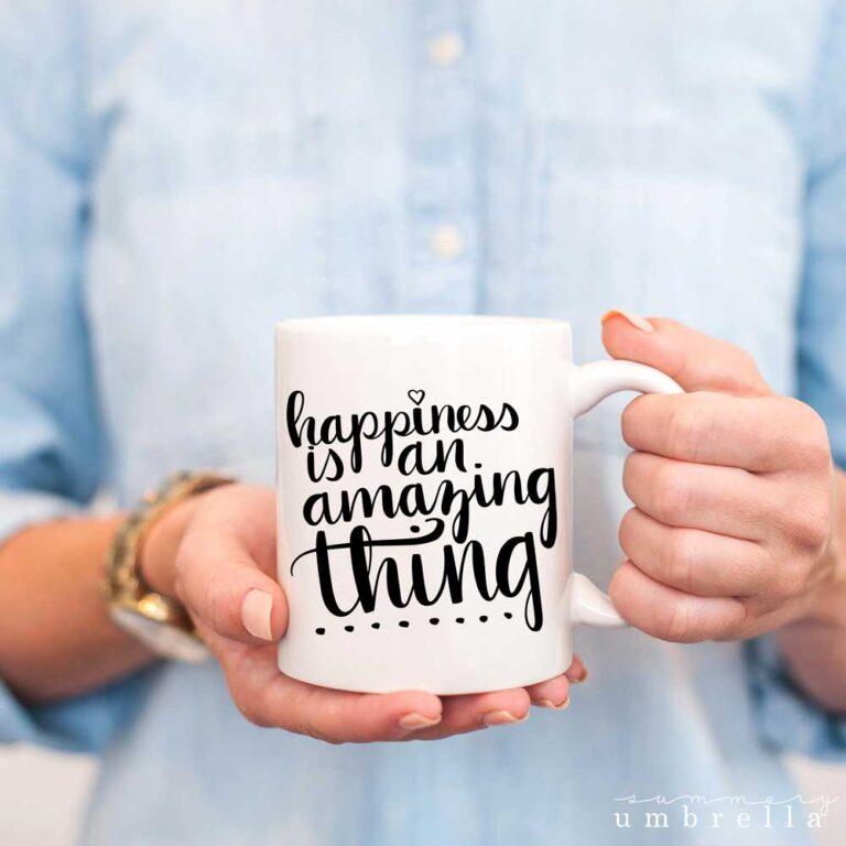 happy quote svg