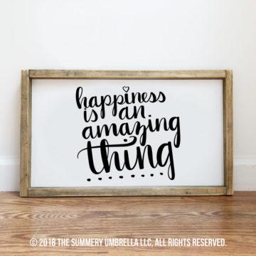 happiness printable