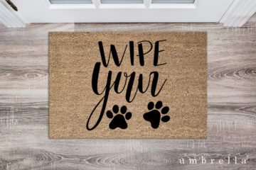 wipe your paws svg