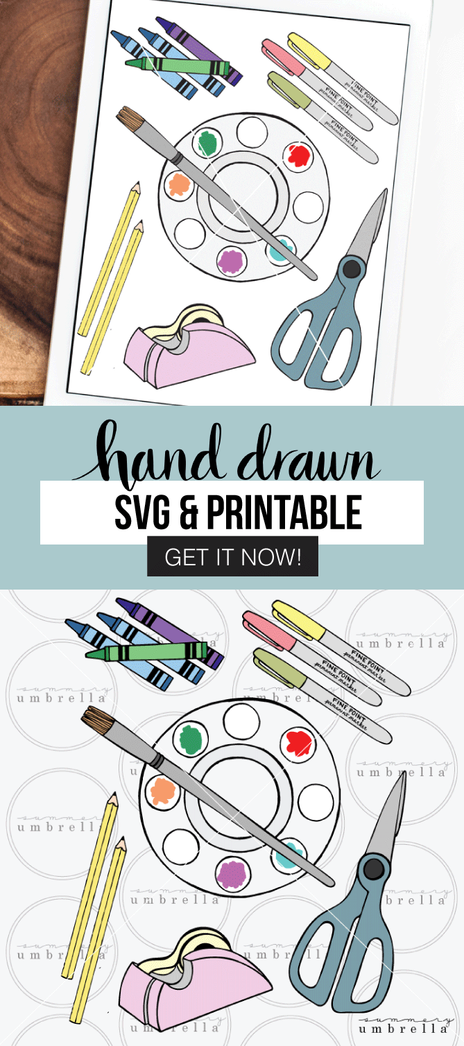 Can you believe that it's almost time to send the kids back to school? There's no time like today to start enjoying this Back to School SVG Bundle and Clipart for all of your DIY school projects! This free download (for a limited time) includes: SVG, JPG,  and PNG files. Grab it now!
