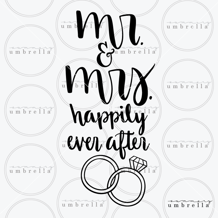 wedding rings svg