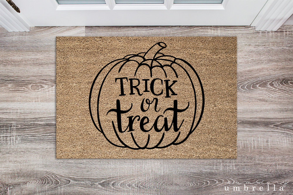 Trick or Treat Mat