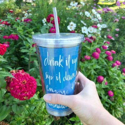 FREE DOWNLOAD: Summer Inspired DIY Tumbler Template