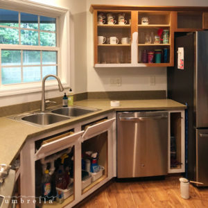 How to Paint Kitchen Cabinets Without Sanding | LZ Cathcart