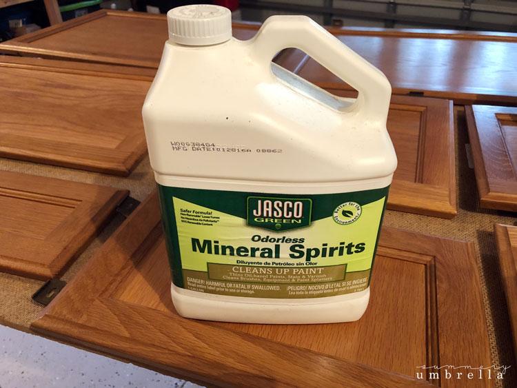 mineral spirits