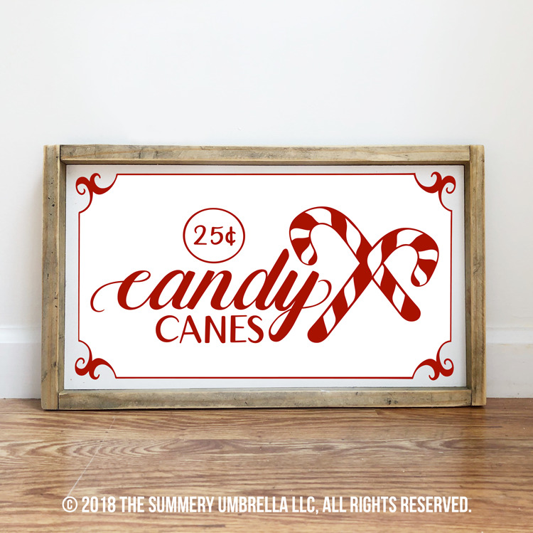 candy canes graphic