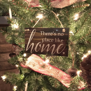 DIY Rustic Handmade Christmas Ornament by The Birch Cottage