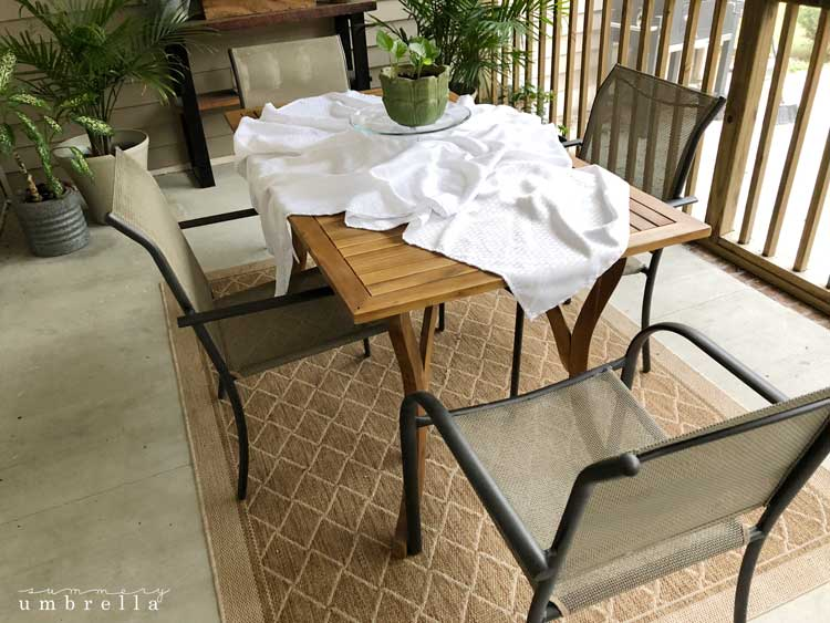 paint metal patio furniture