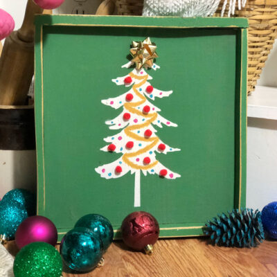 Colorful and Festive DIY Christmas Signs