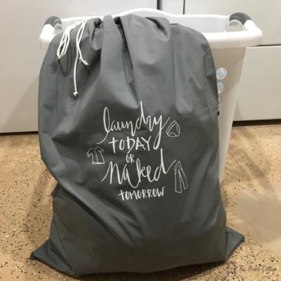 How to Make a DIY Pillowcase Laundry Bag