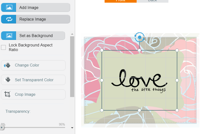 screenshot of Avery Design & Print app to make printable valentine's day cards
