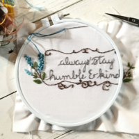 How to Create an Embroidery Pattern Using an Image by The Birch Cottage