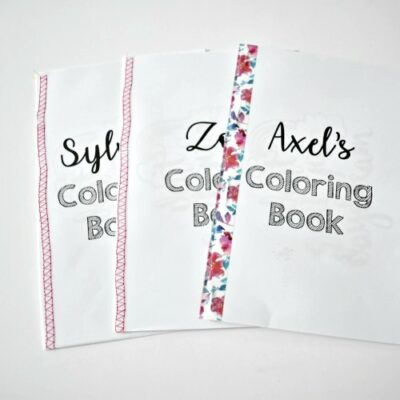 How to Make an easy DIY Coloring Book for Kids