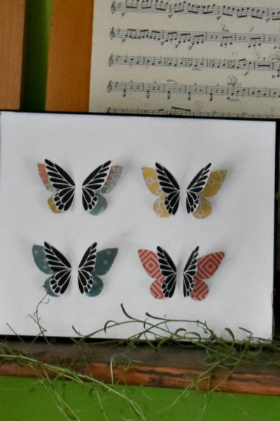 How to Make Butterfly Specimen Art for Spring