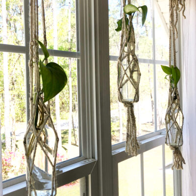 Create an Easy DIY Macrame Plant Hanger