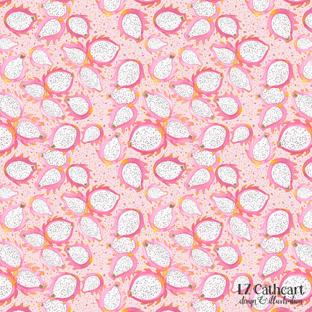 dragonfruit pattern