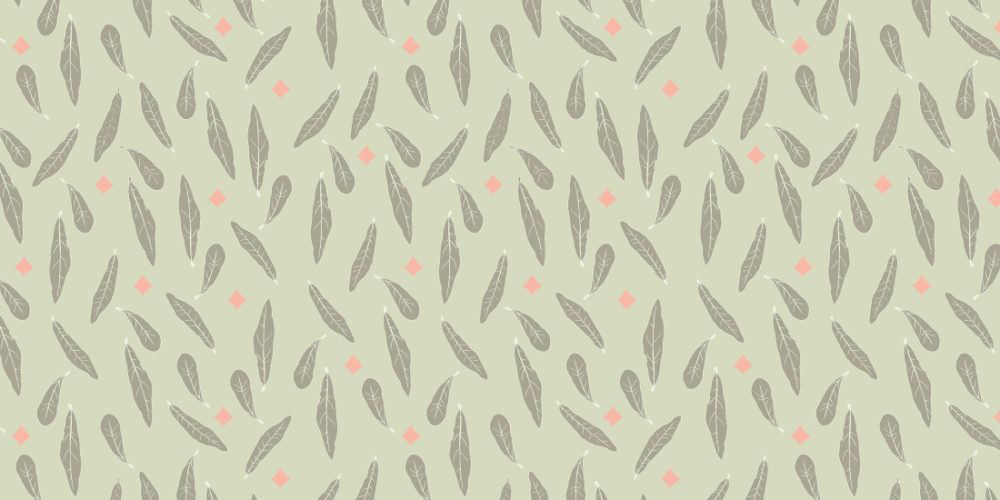fall leaves in olive green