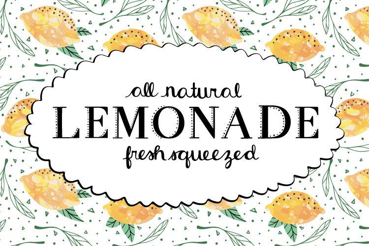 easy lemonade recipe
