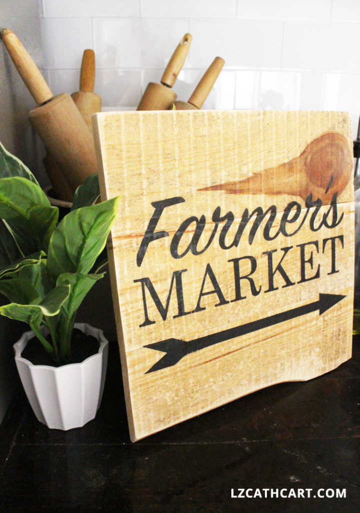how to farmers market sign