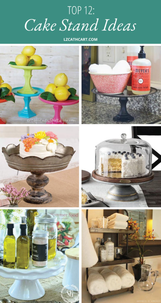 Not only is there an amazing array of cake stands available, but what you can do with them is endless. Check out these lovely cake stand ideas NOW! #cakestandideas #cakestanddecor #cakestanddiy #cakestandecorkitchen #cakestanddecordisplay