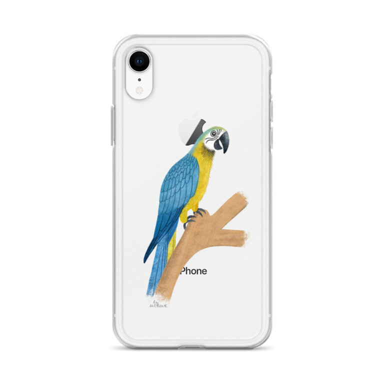 Parrot iPhone Case Clear