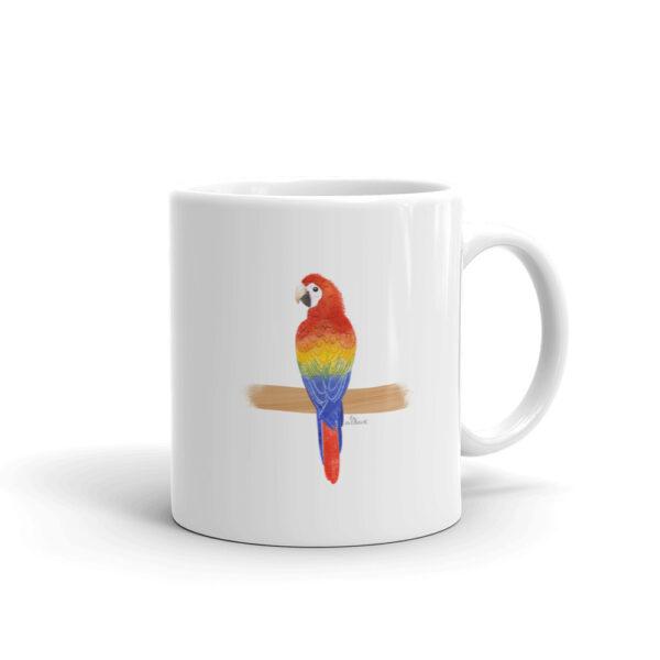 Scarlet Macaw Mug