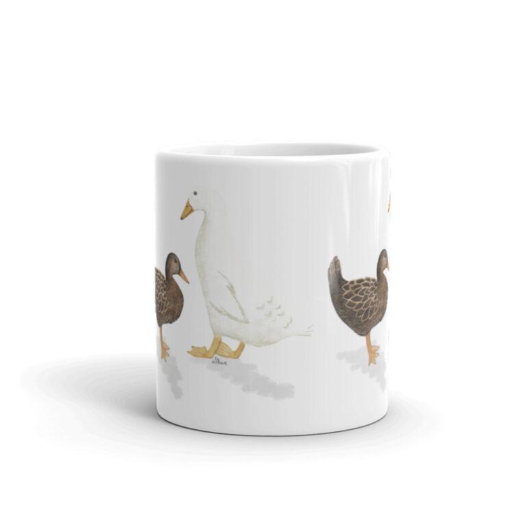 farm ducks mug