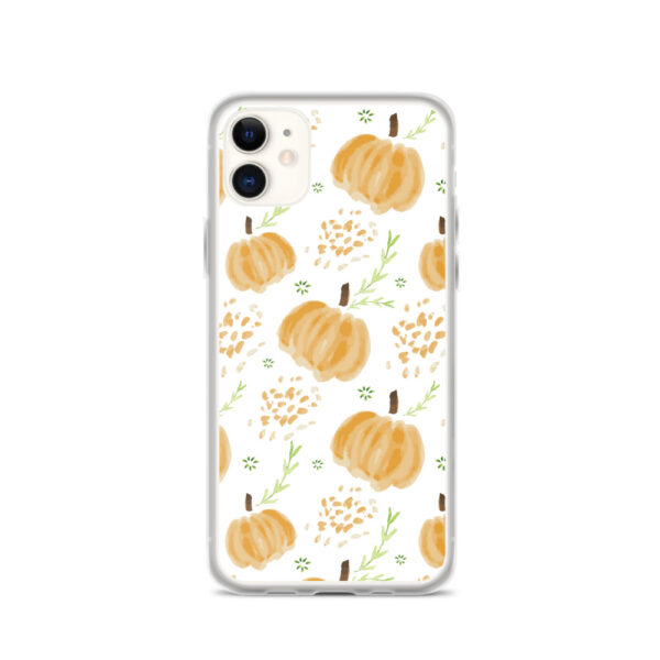 harvest pumpkins iphone case