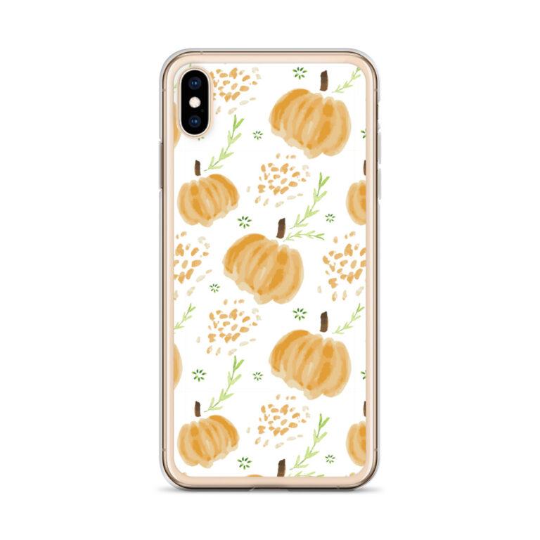 harvest pumpkins iphone case