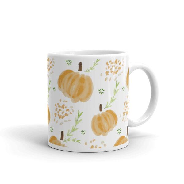 harvest pumpkins mug