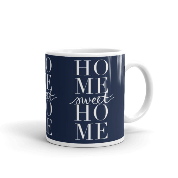 home sweet home mug in navy