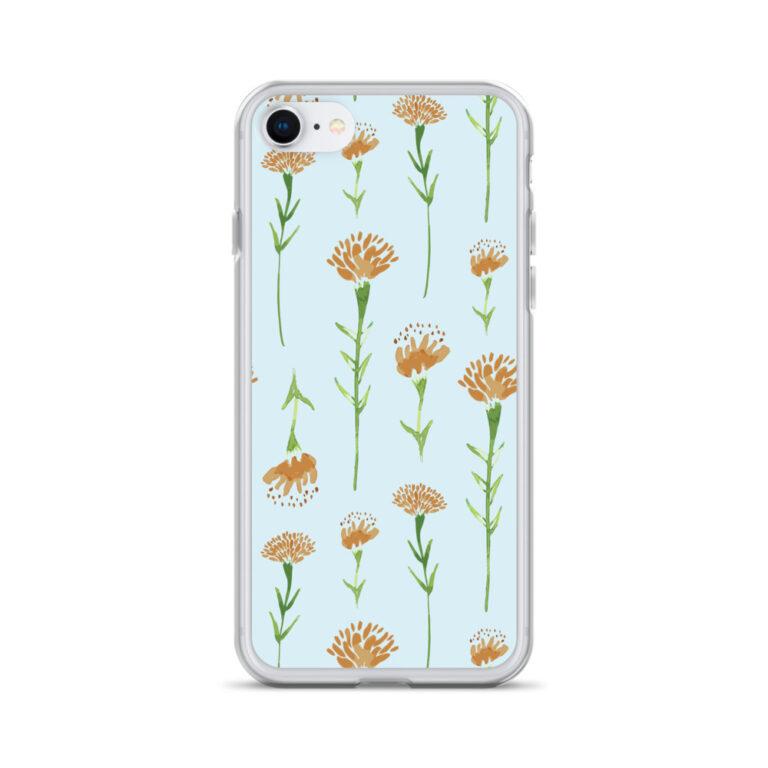 marigold iphone case in blue