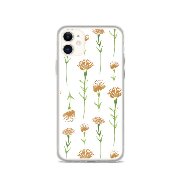 marigold phone case in white