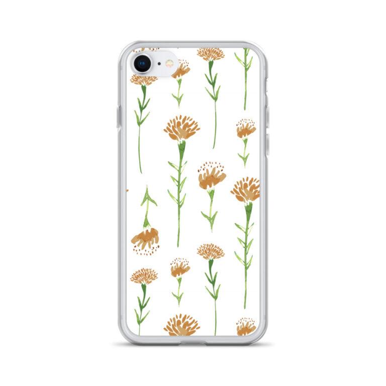 marigold phone case in white