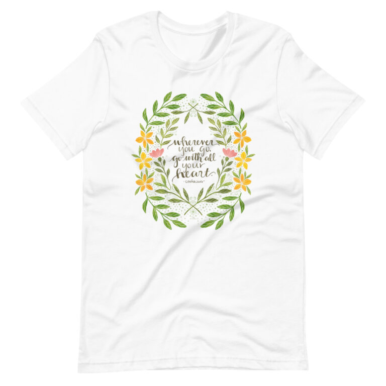 wherever you go women's t-shirt