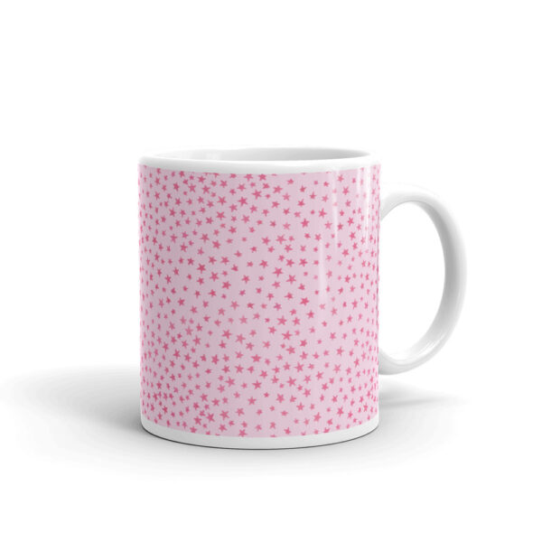 whimsical stars mug