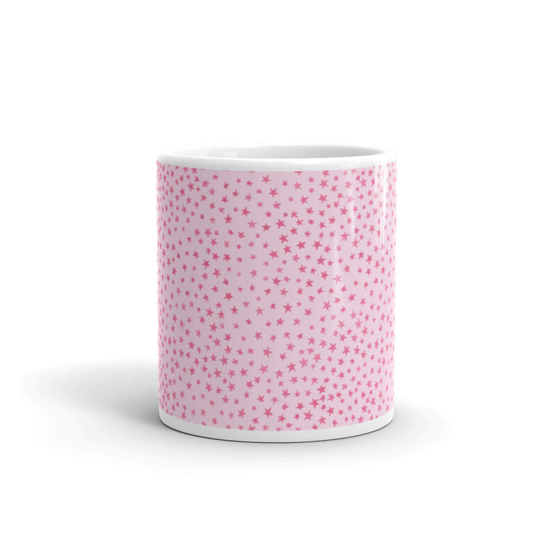 whimsical stars mug