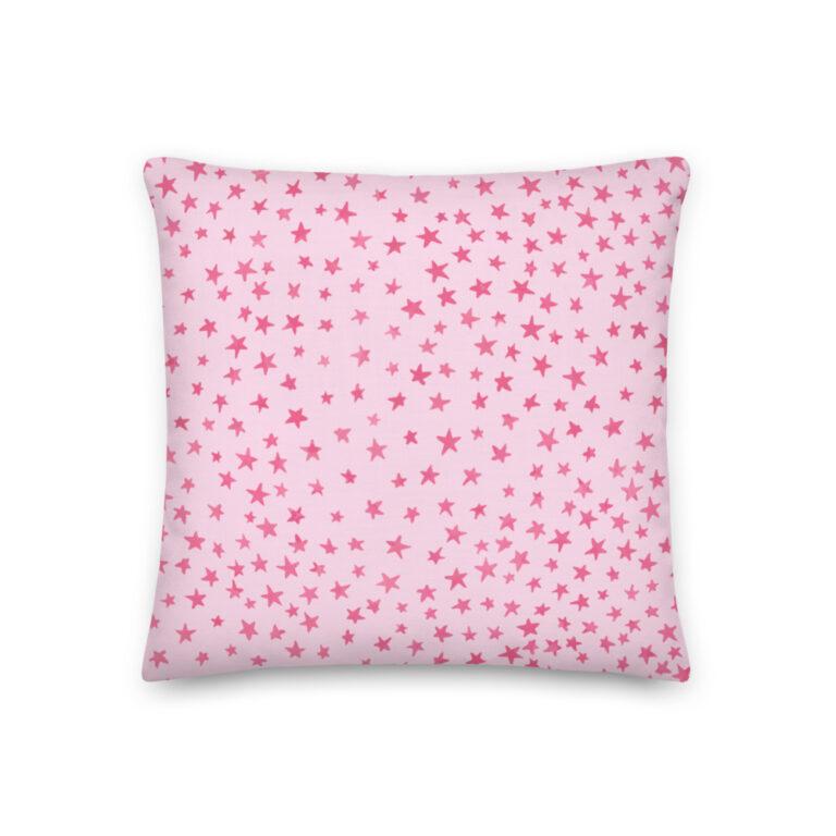 whimsical stars pillow 2