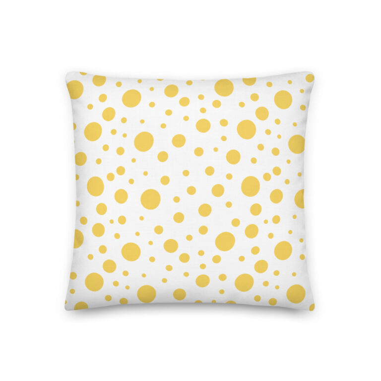 Lemon Dots Pillow