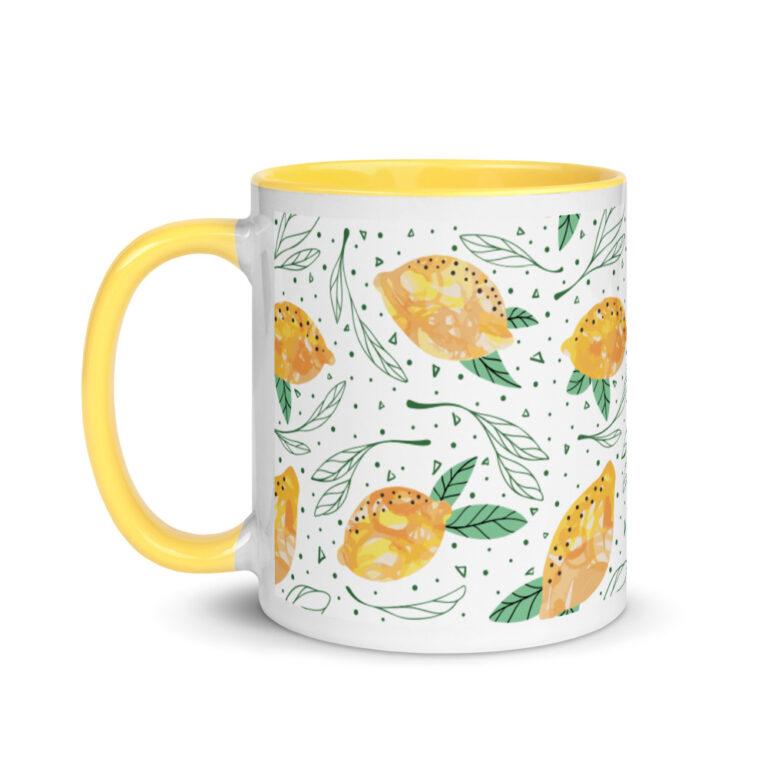 Lemon Pattern Mug 2