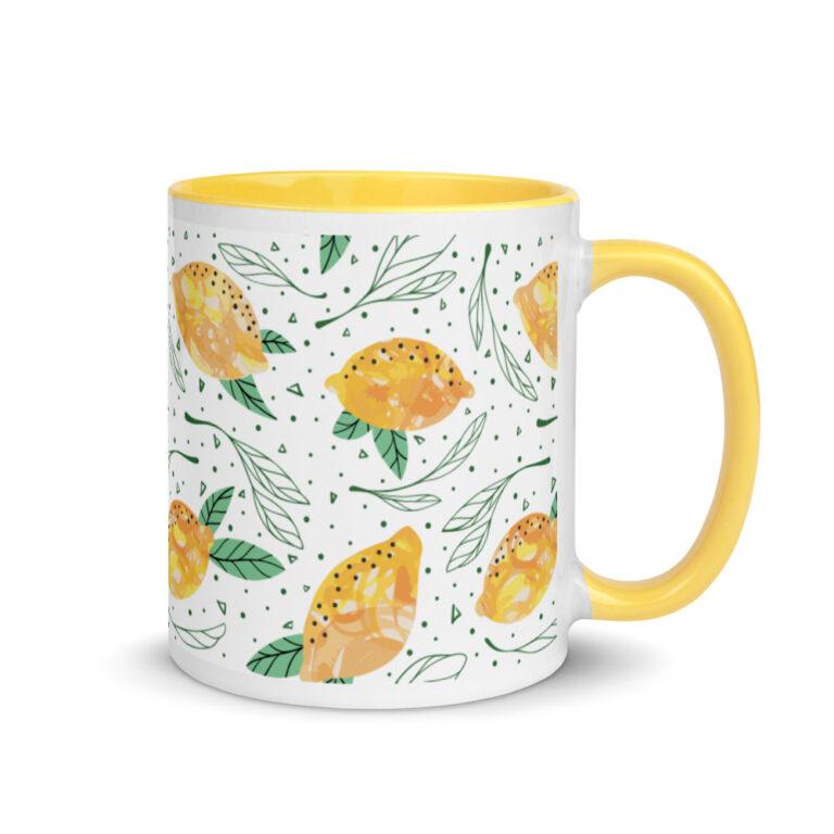 Lemon Pattern Mug 3
