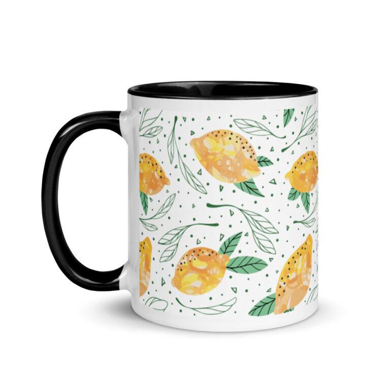 Lemon Pattern Mug 4