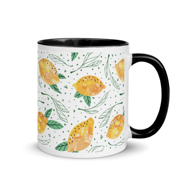 Lemon Pattern Mug