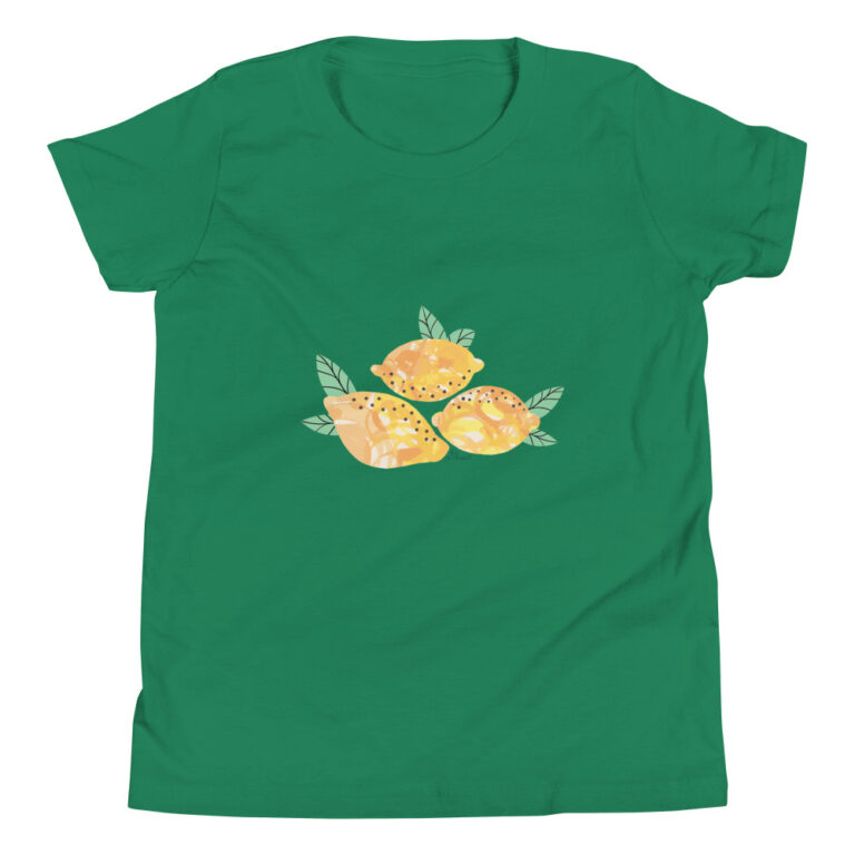 Lemons Kids T-Shirt green