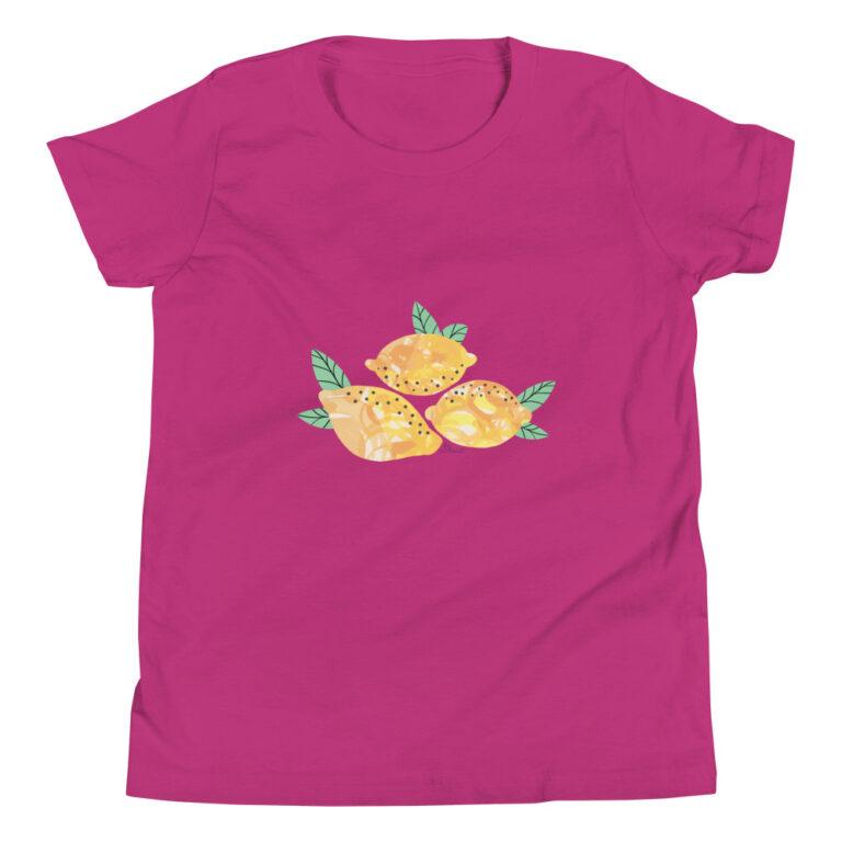 Lemons Kids T-Shirt pink